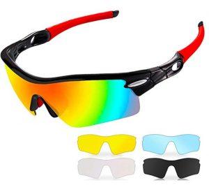 Anteojos deportivos CrazyFire con lentes recambiables