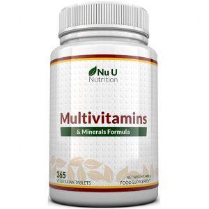 Comprimido Nu U de vitaminas