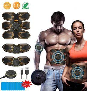Estimulador muscular de descargas eléctricas Anlan unisex