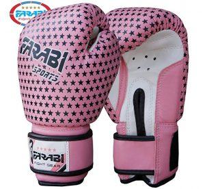 Guante de boxeo Farabi Sports para niñas