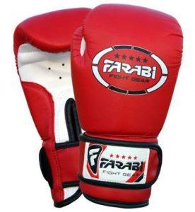 Guantes de boxeo Farabi Sports para niños