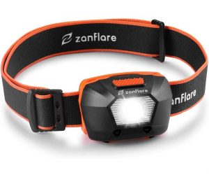 Linterna frontal Zanflare de alta potencia