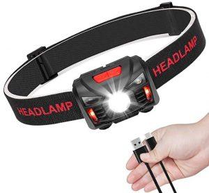 Linternas frontales Headlamp de alta potencia