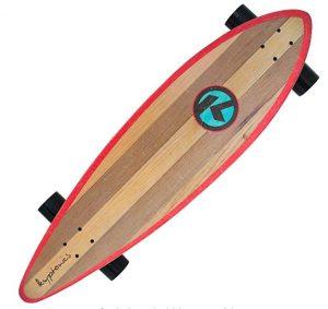 Longboard Kryptonics con madera de arce