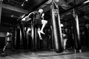 Soportes para sacos de boxeo
