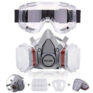 Máscaras antipolución Nasum con gafas protectoras