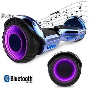 Patín eléctrico para niños GeekMe con led en las ruedas