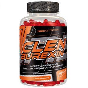 Quemador de grasa Clenburexin a base de cápsulas