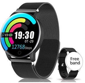 Relojes pulsómetros Naixues con presión arterial