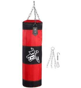 Saco de boxeo Alomejor con bolsa de arena