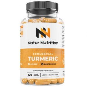 Compuesto nutritivo Natur Nutrition de cúrcuma