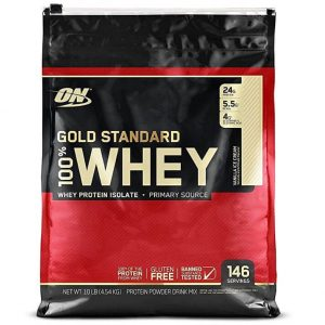 Suplementos deportivos Optimum Nutrition de proteínas
