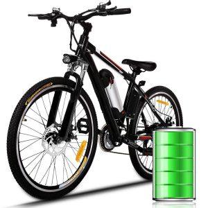 Bicicleta eléctrica de montaña con 21 velocidades