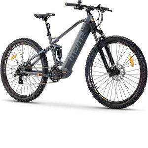 Bicicleta eléctrica de montaña con cuadro de aluminio