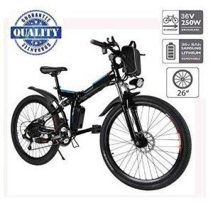 Bicicleta eléctrica de montaña con tres modos