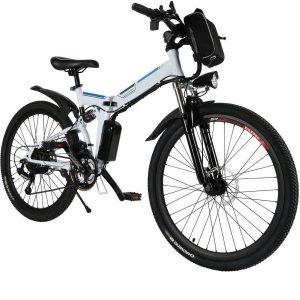 Bicicleta eléctrica de montaña ergonómica