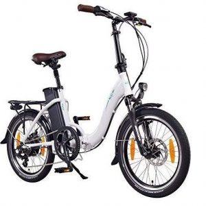 Bicicleta eléctrica plegable con cuadro robusto