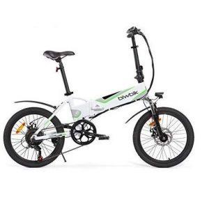 Bicicleta eléctrica plegable con pedaleo asistido