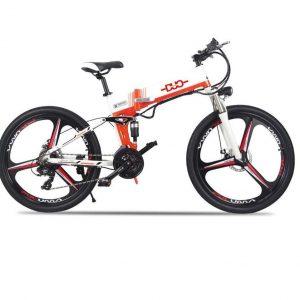 Bicicleta eléctrica plegable de montaña