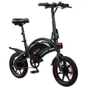 Bicicleta eléctrica sin pedales Amazefan DYU
