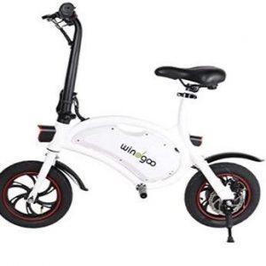 Bicicleta eléctrica sin pedales plegable Windway