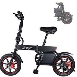 Bicicleta eléctrica sin pedales urbana Mangoo