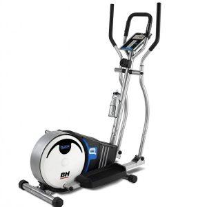 Bicicleta elíptica plegable para entrenamiento silencioso