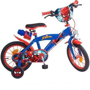 Bicicleta para niños con diseño de Spiderman