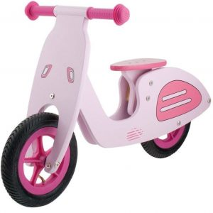 Bicicleta para niños de madera