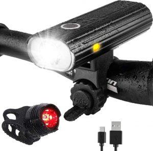 Luz delantera de bicicleta de alta calidad
