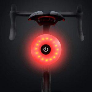Luz trasera para bici multifuncional